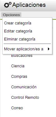 editar aplicaciones