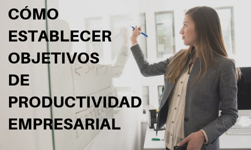 Cómo establecer objetivos de productividad empresarial