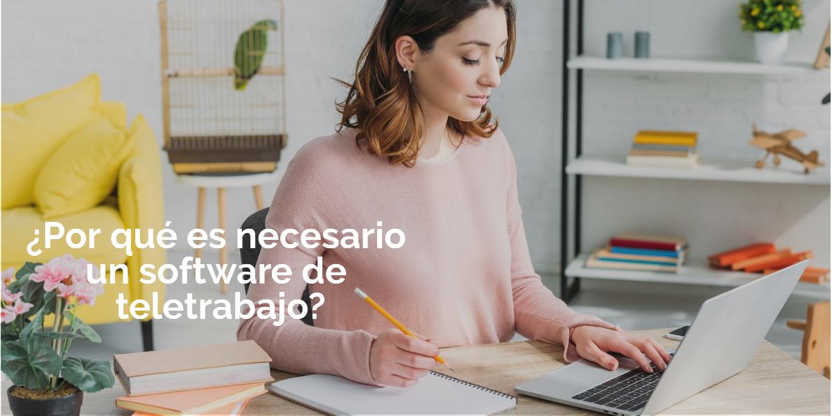 software teletrabajo