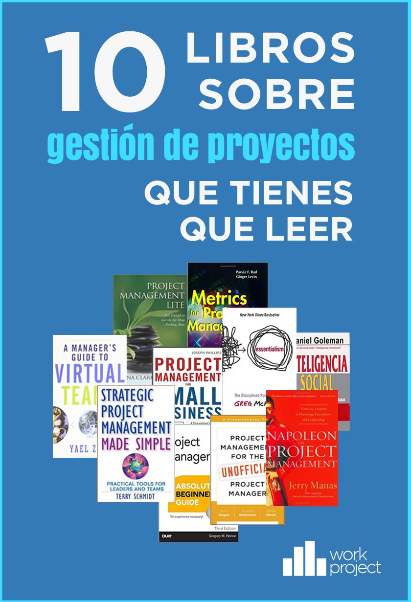 10 libros de gestion de proyectos