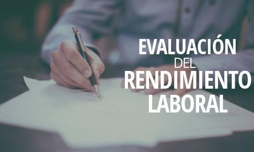 evaluación del rendimiento laboral