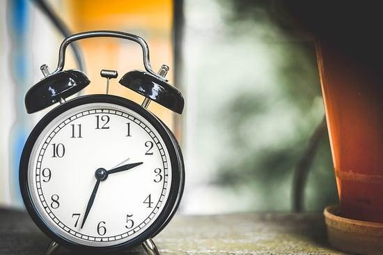 horarios y salir antes del trabajo
