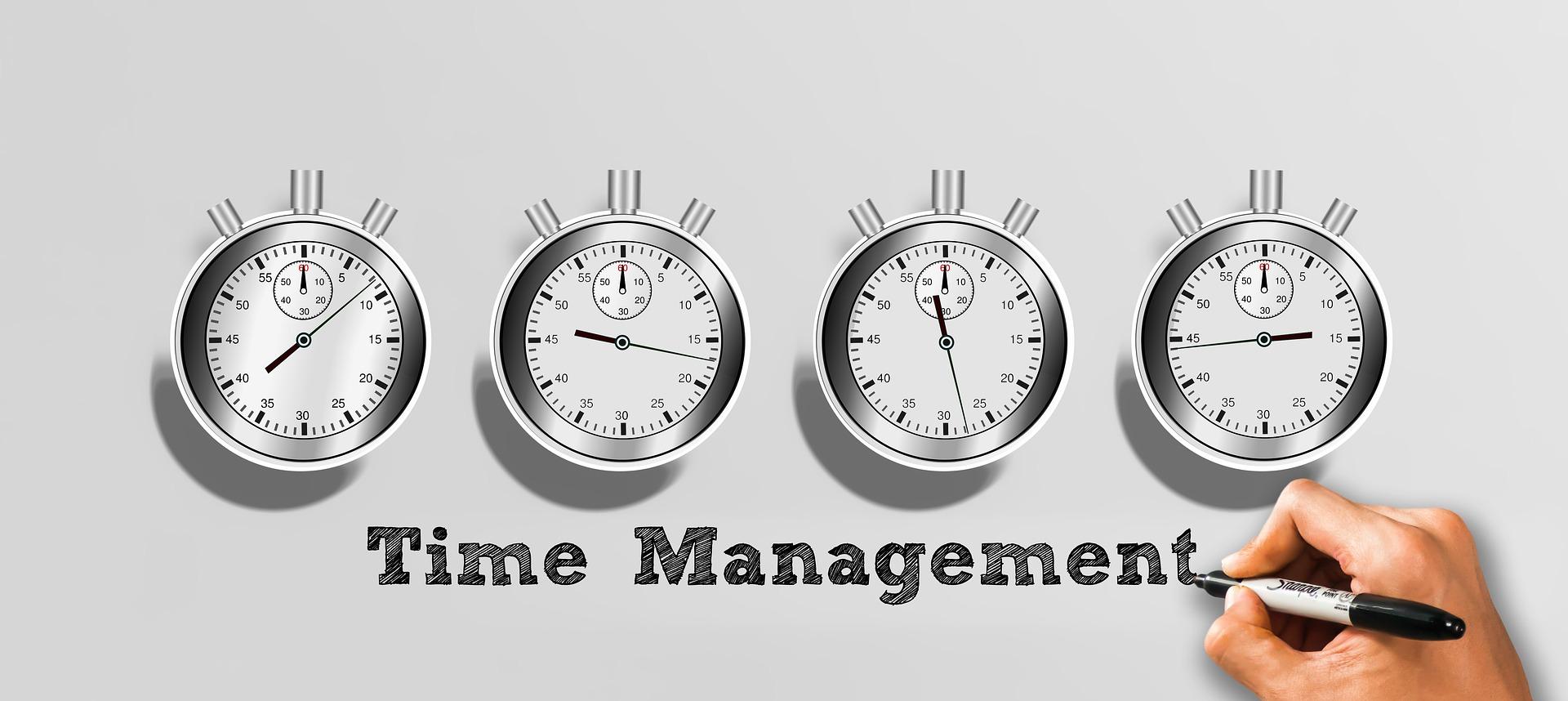 Controlar el tiempo para gestionarlo mejor