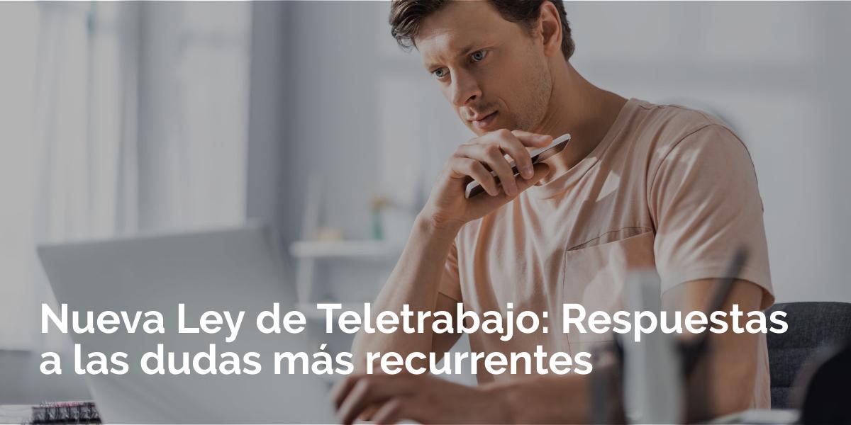 Nueva Ley de Teletrabajo